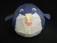 ペンギン(青) 紙風船