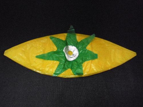 黄色いトマト 紙風船