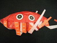 たこの紙風船(赤)