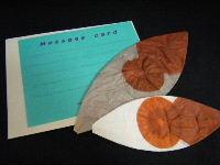紙手紙セット 紙風船