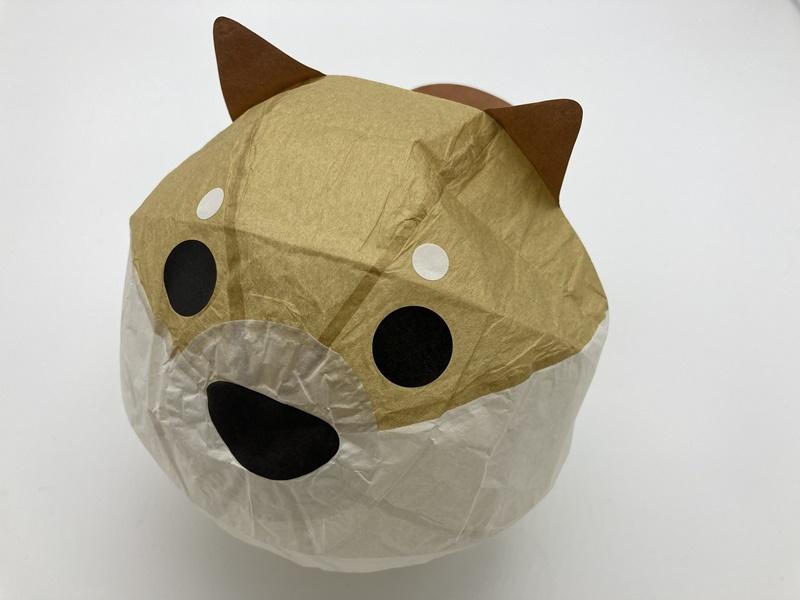 紙ふうせん 犬 3